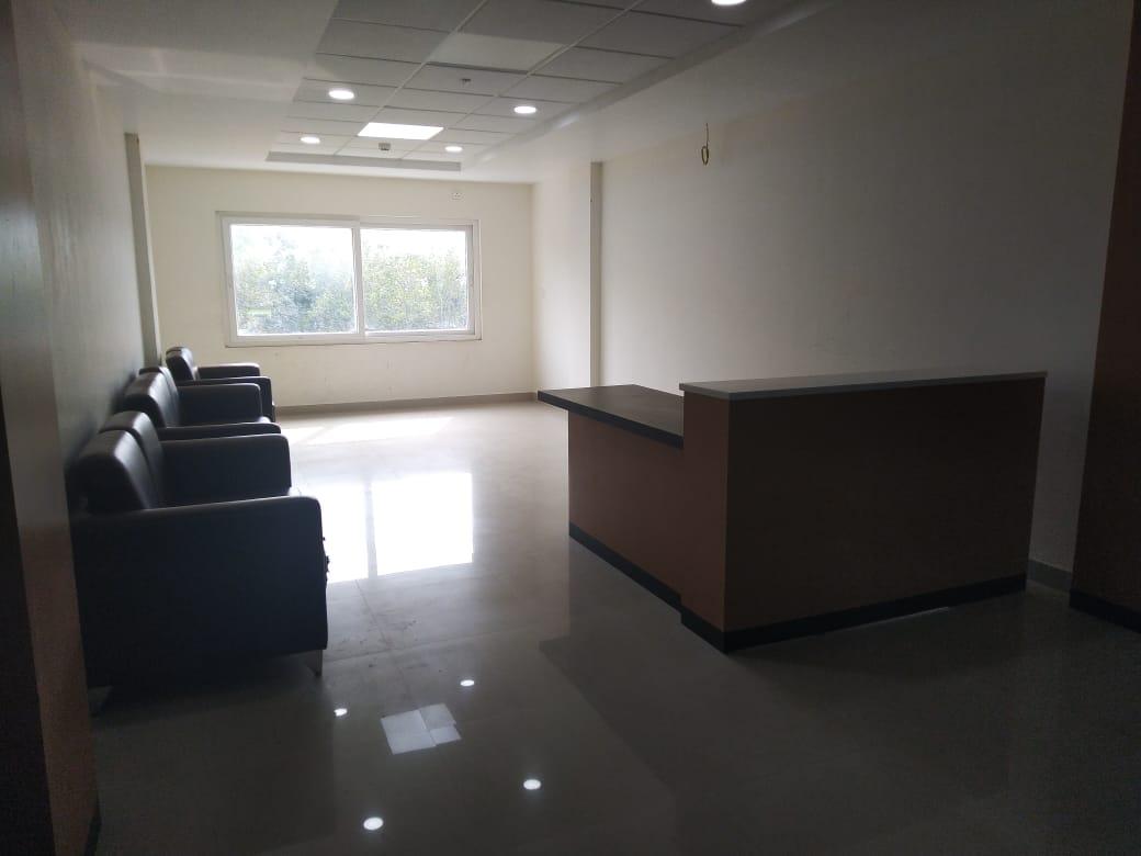 Reception cum Waiting Area